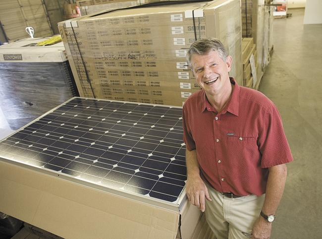 LightWave Solar Electric President Steve Johnson said solar installations have doubled each year since 2006.