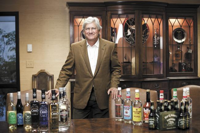 "Robert Lipman is president and CEO of R.S. Lipman Co., the oldest distributor of alcohol in Tennessee. ""It's the only thing I've ever known,"" said Lipman, a third-generation owner of the company."