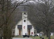 Thompson's Station Methodist Church, along Thompson's Station Road West.