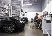 """Adam Long is the head mechanic of the Maserati Rolls-Royce Bentley of Nashville dealership in Franklin. """"Everything's all electronic,"""" said Long about how the luxury line vehicles provide extensive diagnostic information."""