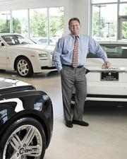 """Tom Buckley is the general manager of the Maserati Rolls-Royce Bentley of Nashville. """"Now that we're here (getting a luxury vehicle) is more obtainable,"""" Buckley said."""