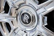 A car at the Maserati Rolls-Royce Bentley dealership.