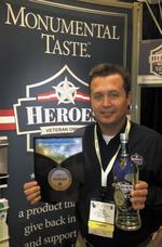 Heroes Vodka combines business mission, cause