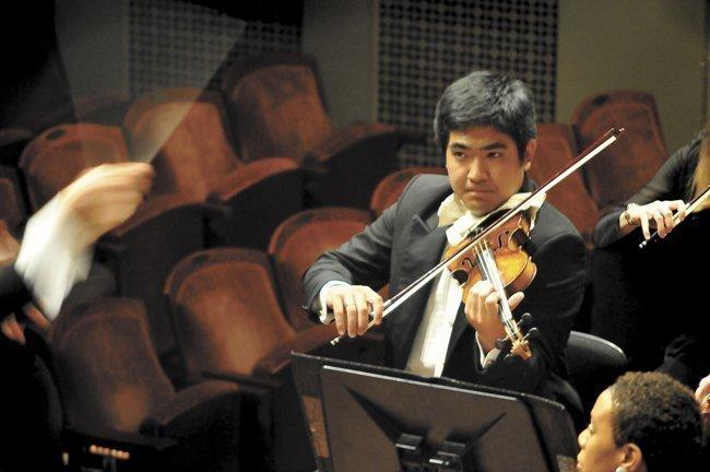 Jun Iwasaki is concertmaster for the Nashville Symphony