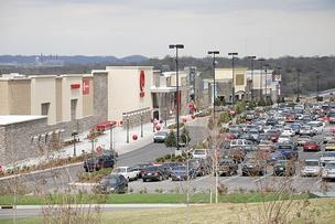 Nashville West shopping center off Charlotte Pike opened in 2007.
