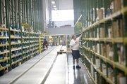 Inside the OHL warehouse in La Vergne.