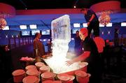 Dave & Buster's hosted a party for workers in Nashville's hospitality industry on Tuesday night, its second night open for business after the May 2010 flood.
