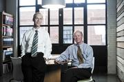 David Plummer and Marion Fowlkes, principals of Centric Architecture, merged their firms.