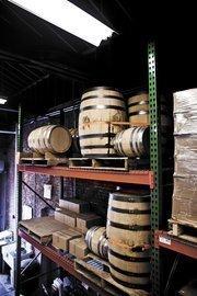 The Marathon distillery of Popcorn Sutton Tennessee White Whiskey.