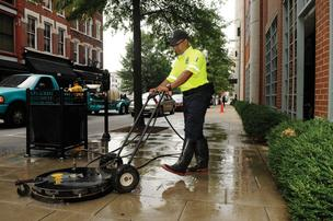 SMS Holdings Corp.'s Block by Block division provides safety, cleaning and hospitality programs for several downtown business districts, including Louisville and Nashville.