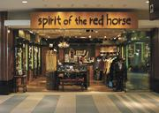 The Spirit of the Red Horse, pictured, and Boswell's Music City Harley-Davidson also are new additions at the airport.