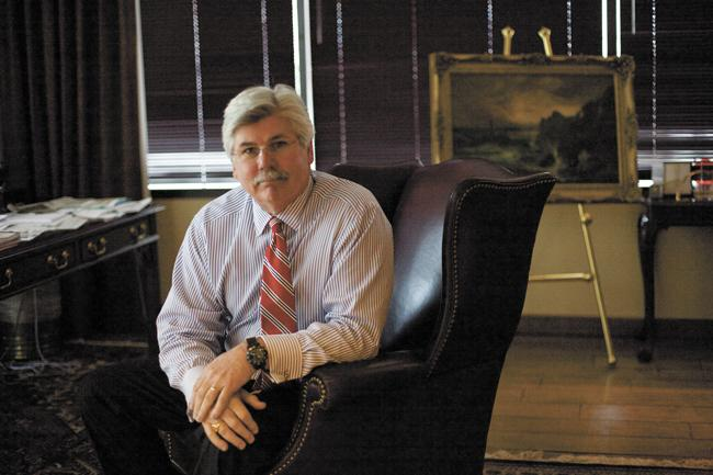 John Stein is Tennessee president for Bank of America.
