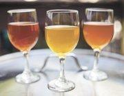 Samples of Tennessee Brew Works' beer.