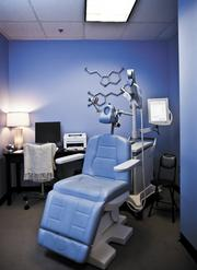 The high-tech chair for the treatment can cost $70,000 to $100,000.
