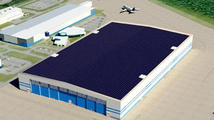 Boeing's South Carolina plant will generate solar energy and buy renewable energy offsets for the rest of its electricity needs.