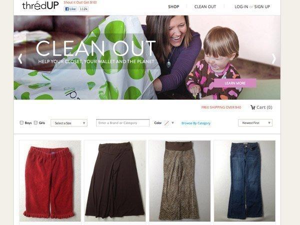 Kid stuff-swapping website ThredUP landed $14.5 million in venture capital.