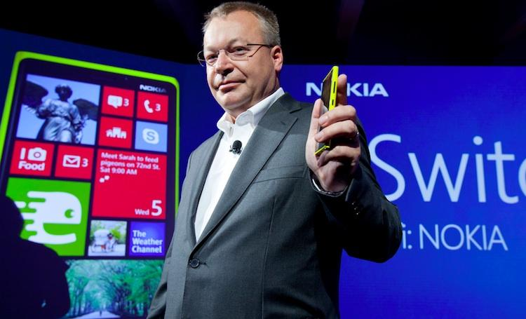 Nokia CEO Stephen Elop has banked the company's future on the Windows Phone 8 powered Lumia smartphones.