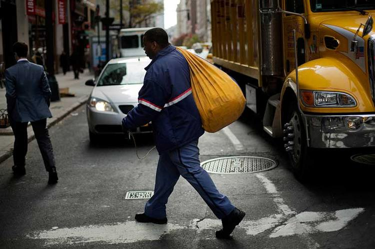 The U.S. Postal Service reported a $1.3 billion loss for the October to December quarter.