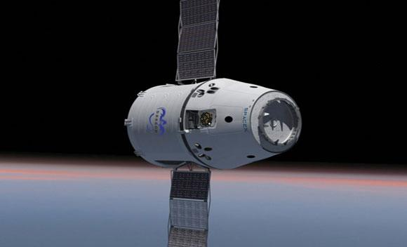 NASA and Space Exploration Technologies Corp. set Oct. 7 as the launch date for the first contracted cargo resupply flight to the International Space Station.
