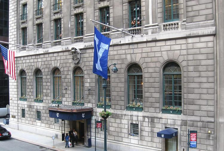 The Yale Club is among several buildings in Midtown East that preservationists warn might be vulnerable to demolition under new proposed zoning rules.