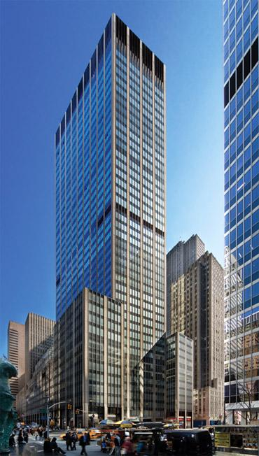 Vornado Realty Trust has secured $950 million refinancing for 1290 Avenue of the Americas.