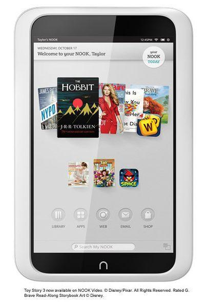 British publisher Pearson is taking a 5 percent stake in Barnes & Noble Inc.'s Nook unit for $89.5 million.