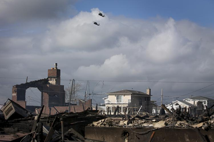 Superstorm Sandy brought havoc to the East Coast -- and to Allstate's latest earnings.