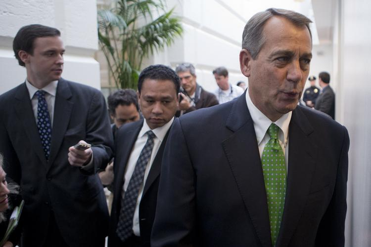Speaker of the House John Boehner took a lot of heat this week when he didn't push through a vote to fund relief from Hurricane Sandy -- but he changed directions, and the funding bill passed with ease Friday.