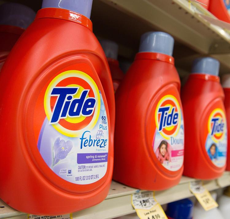 Procter & Gamble (NYSE:PG) is the parent company of consumer brands such as Tide, Downy, Pampers and Crest.