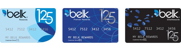 Belk's credit card program, managed by GE Capital, will celebrate the retailer's 125th anniversary.