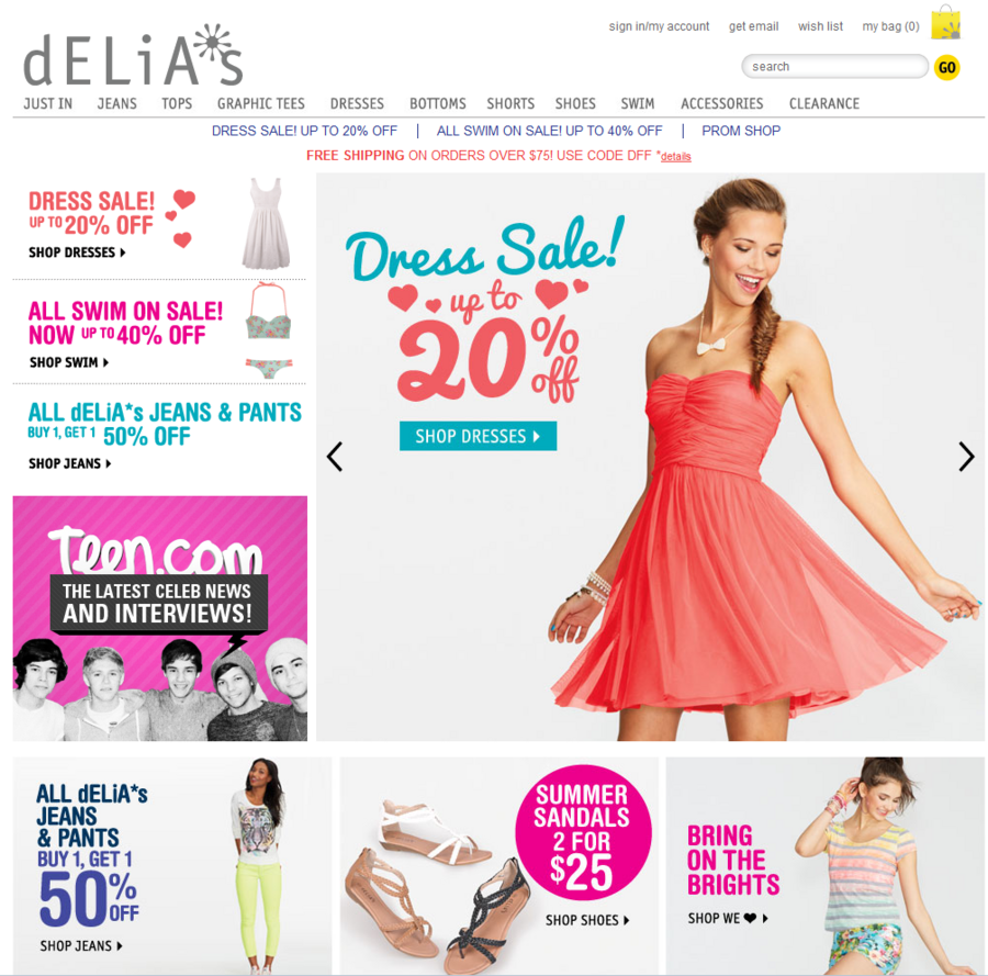 38844c0805f Delia s may divest its Alloy brand.