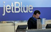 2. JetBlue Airways On-time arrival percentage: 79.1% Involuntary denied boardings: 0.01 per 10,000 passengers Mishandled baggage: 1.88 per 1,000 passengers Total complaints to the U.S. Department of Transportation: 0.79 per 10,000 passengers