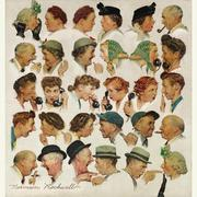 """The Gossips,"" painted for the cover of the Saturday Evening Post in 1948 is estimated to be worth $6 million to $9 million."