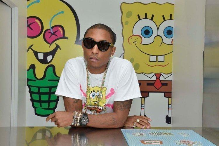To launch the newSpongeBob X Icecreamline,PharrellWilliams made an appearance at the Billionaire Boys Club flagship SoHo store in New York on Sept. 10