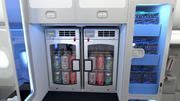 JetBlue's new Airbus A321 fleet will include a self-serve station with snacks, sodas and water for customers.