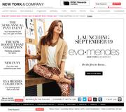 New York & Company, which sells online as well as operating 512 stores, saw revenue for the quarter drop 2 percent from a year ago.