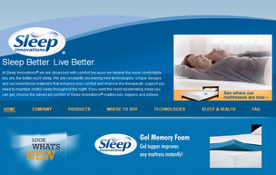 Sleep Innovations makes memory foam pillows and says it has more than 140 new  products in development.