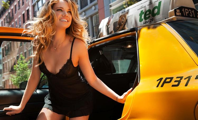 From the land of yellow cabs, the New York-based startup raised more than $8 million to deliver ladies undergarments and swimsuits.