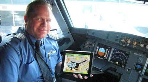 JetBlue pilots using iPads in the cockpit - New York
