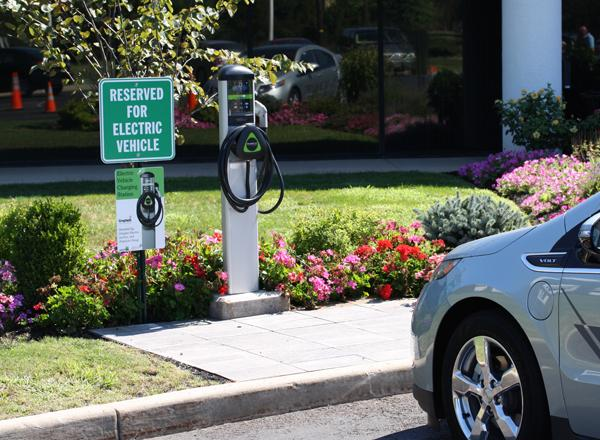 Leviton will install its Evr-Green charging stations at workplaces throughout New York.