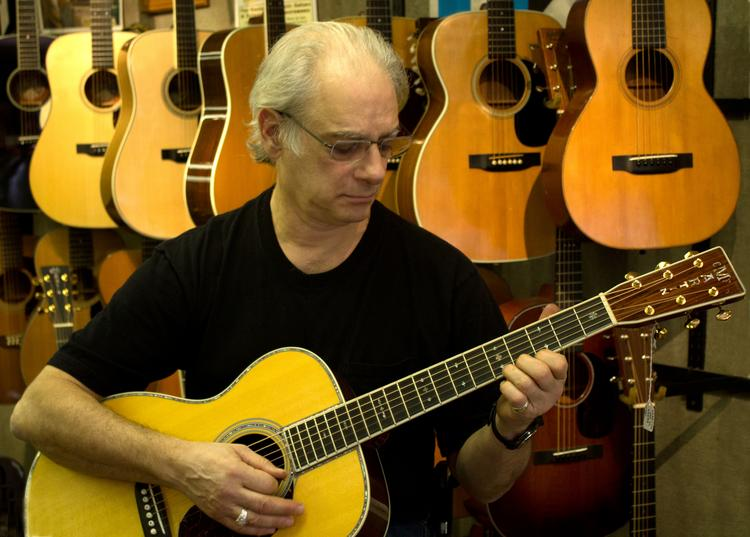"Matt Umanov has been strumming an entrepreneurial divertimento for 44 years: ""I'll run it forever. There's no retirement when you own a business."""