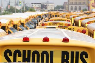 New York school bus drivers have threatened to strike in January.