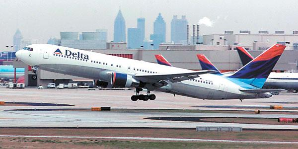 Delta is the top airline for business travel, according to an annual survey by Business Travel News.