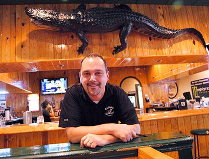 Joe Foranoce of Gator's Dockside, which is opening a location near Lake Nona this September