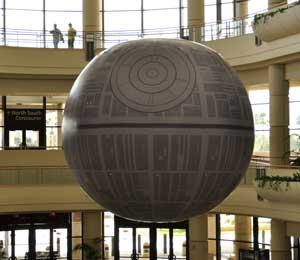 A petition was filed with WhiteHouse.gov's We the People website asking the government to build a Death Star from the Star Wars films.