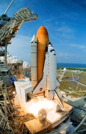 There are only two space shuttle flights remaining — Nov. 1 and Feb. 26.