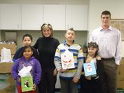 FBC Mortgage staff with children from the Apopka Family Learning Center