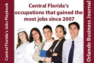 Slideshow: 5 C. Fla. occupations that gained the most jobs since 2007