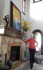 Ann at home