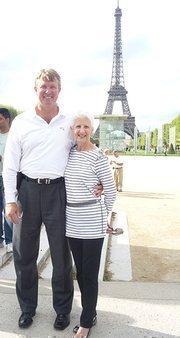 Bob and Ann Sonntag in Paris